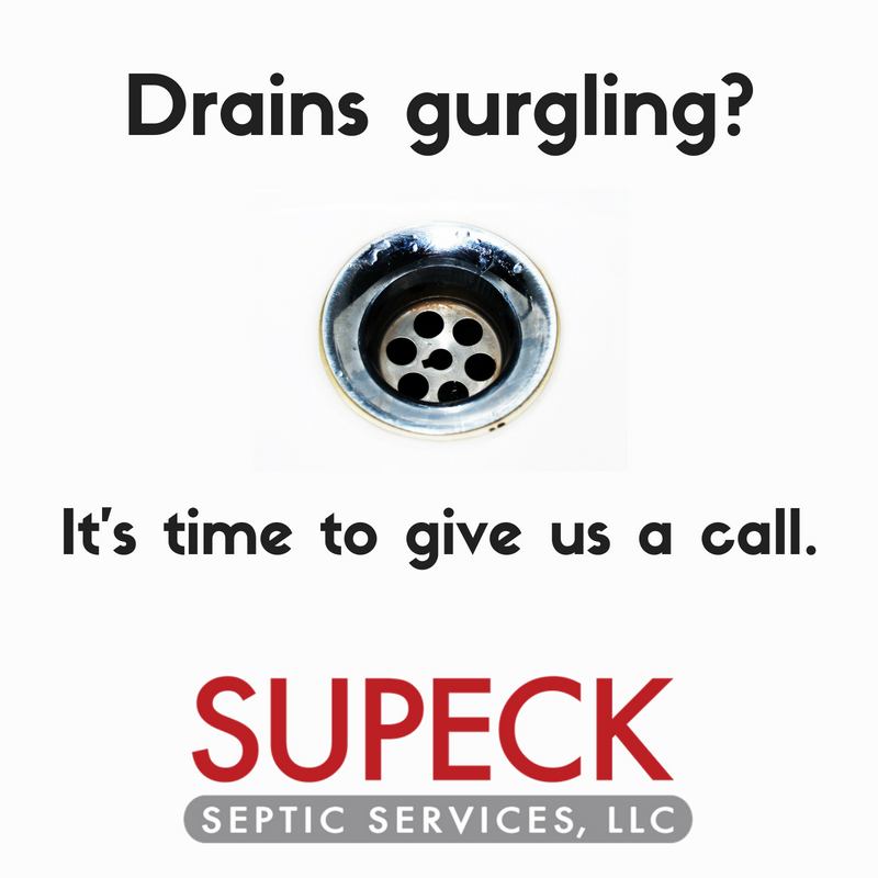 Signs its time for Septic Tank Service