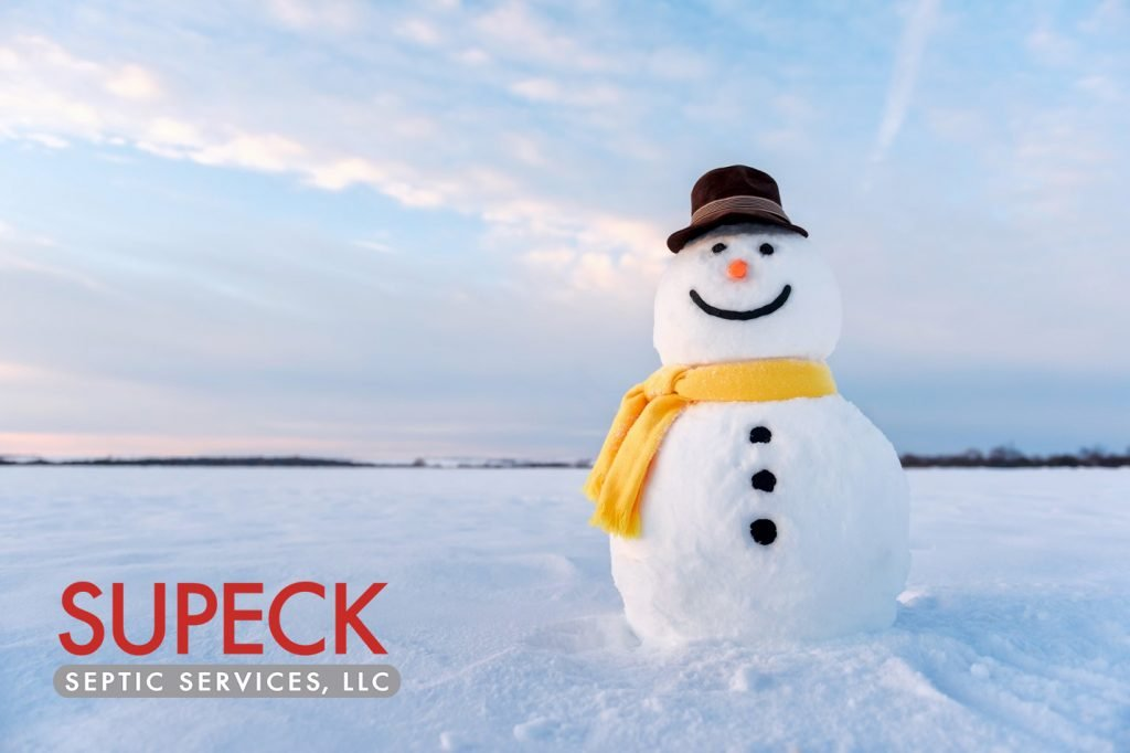 wintertime septic service