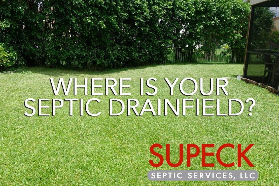 Where is your septic drainfield?